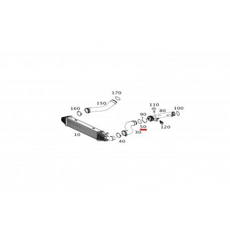 Λάστιχο intercooler Mercedes-benz A0289974548