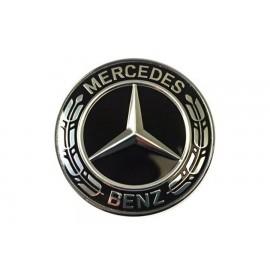 Σήμα καπό μαύρο γνήσιο Mercedes-benz A0008171701