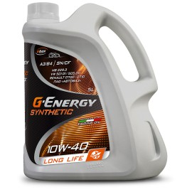 G-energy 10W40 Synthetic Long-Life Gazpromneft 4lt. λάδι κινητήρα