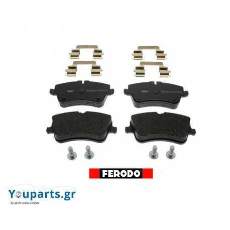 Τακάκια φρενων εμπρός Ferodo Mercedes C W203, CLK W209, SLK 200 R171