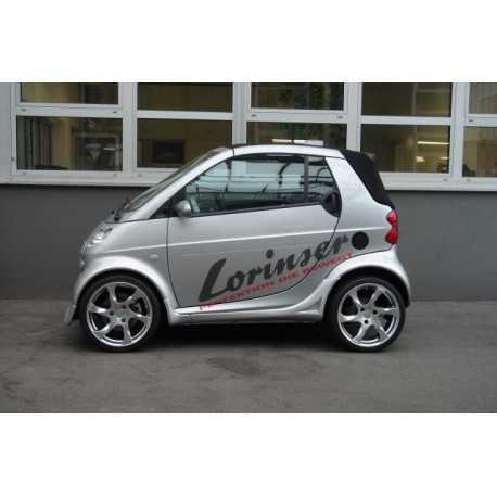 """Σετ Ζάντες Lorinser 17"""" Speedy Smart ForTwo 450"""