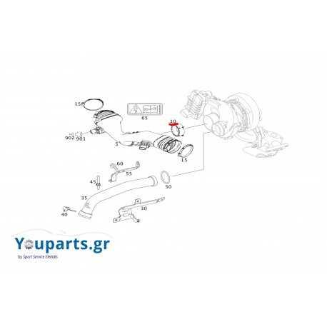 Λάστιχο - τσιμούχα τουρμπίνας γνήσιο Mercedes-Benz A0179974045