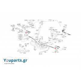 Λάστιχο αντλίας καυσίμου Mercedes-benz A211471057964